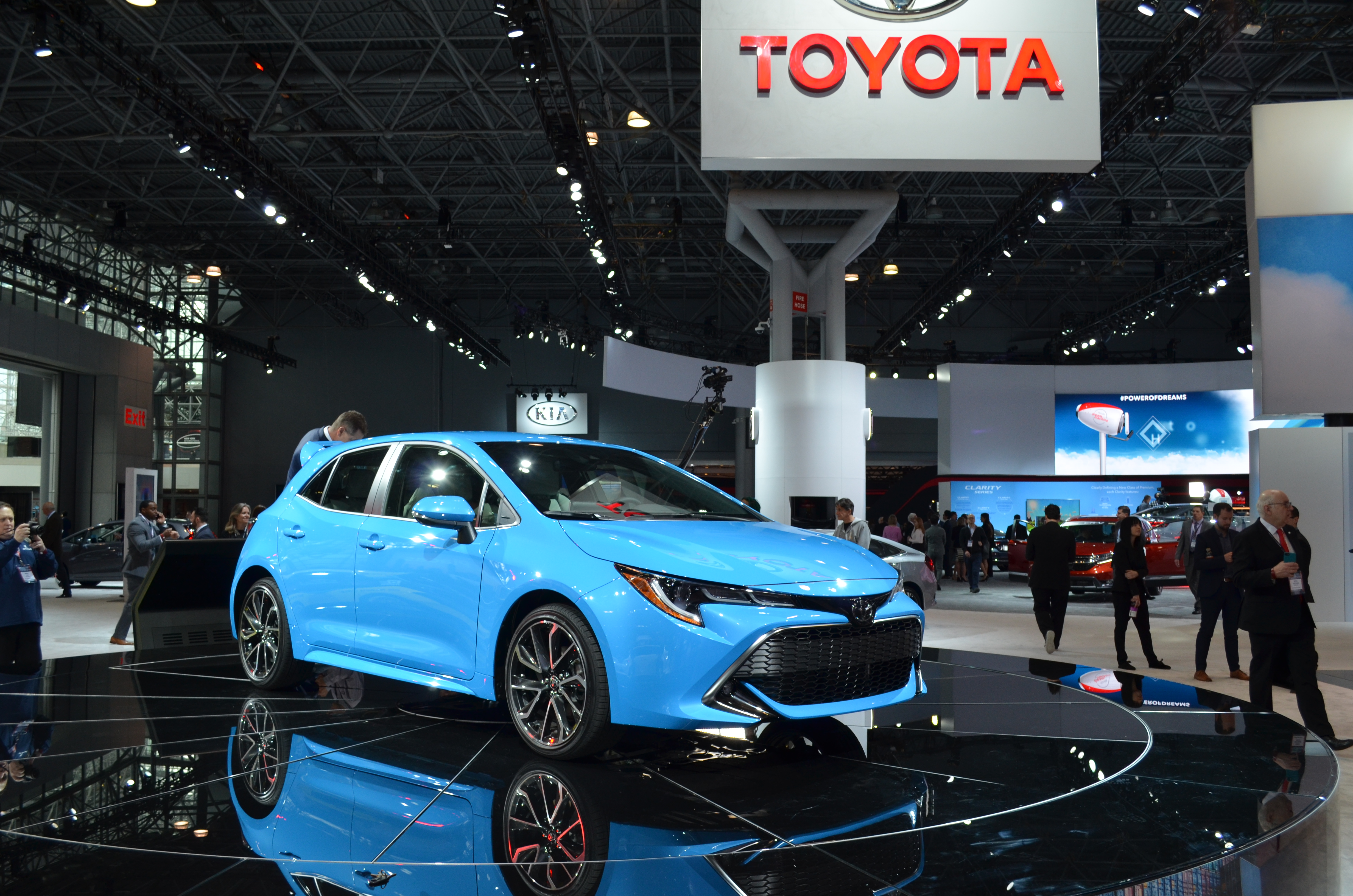 Toyota Unveils All-New Toyota Corolla Hatchback Model at the Javitz Center