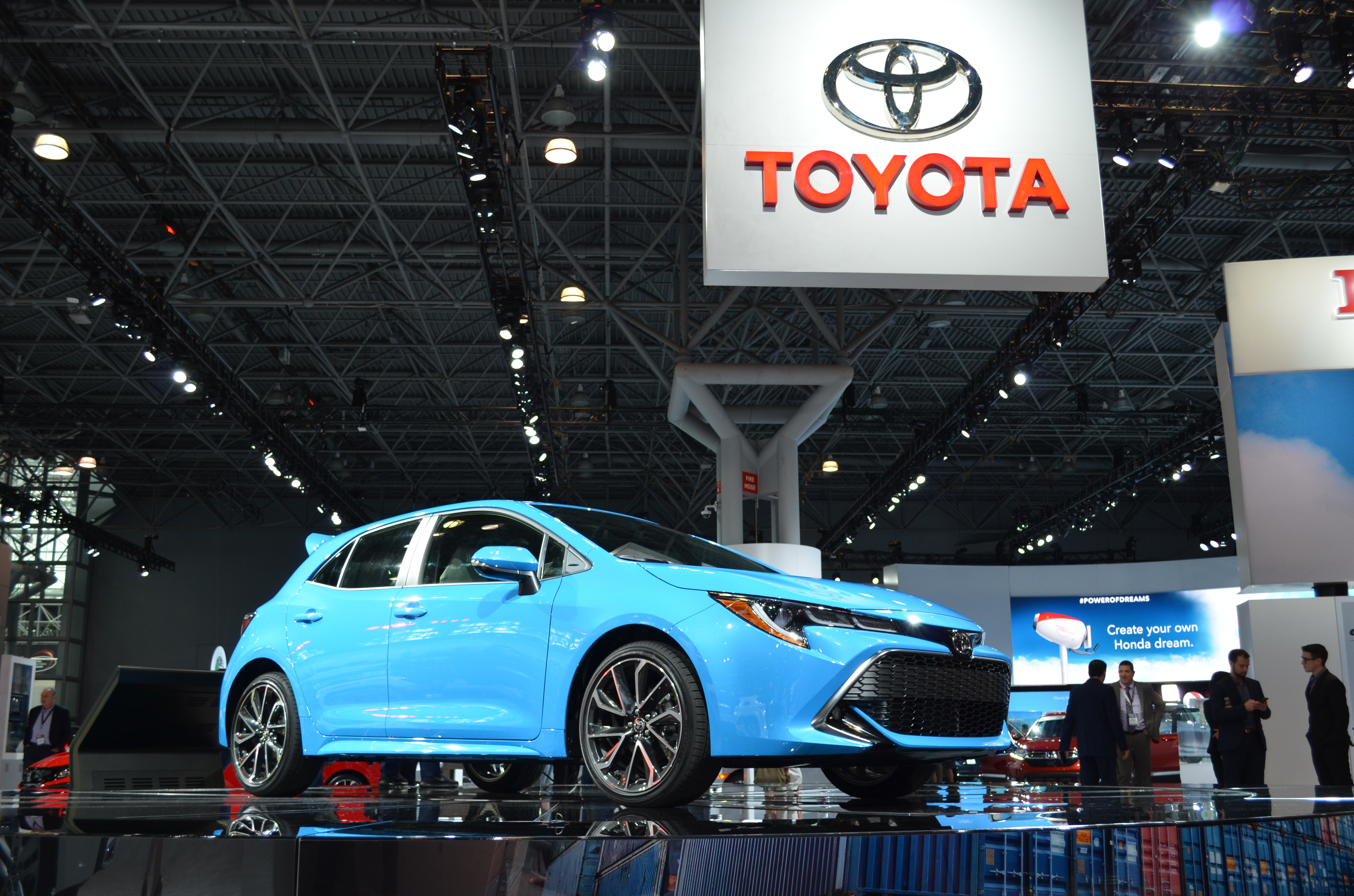 Toyota Premiered the All-New 2019 Toyota Corolla Hatchback at the New York International Auto Show this Week