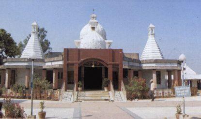 सीतामढ़ी के पुनौरा धाम का सीता मंदिर, जिसका पुनर्निर्माण किया जाना है. (फोटोः सीतामढ़ी.एनआईसी.इन)