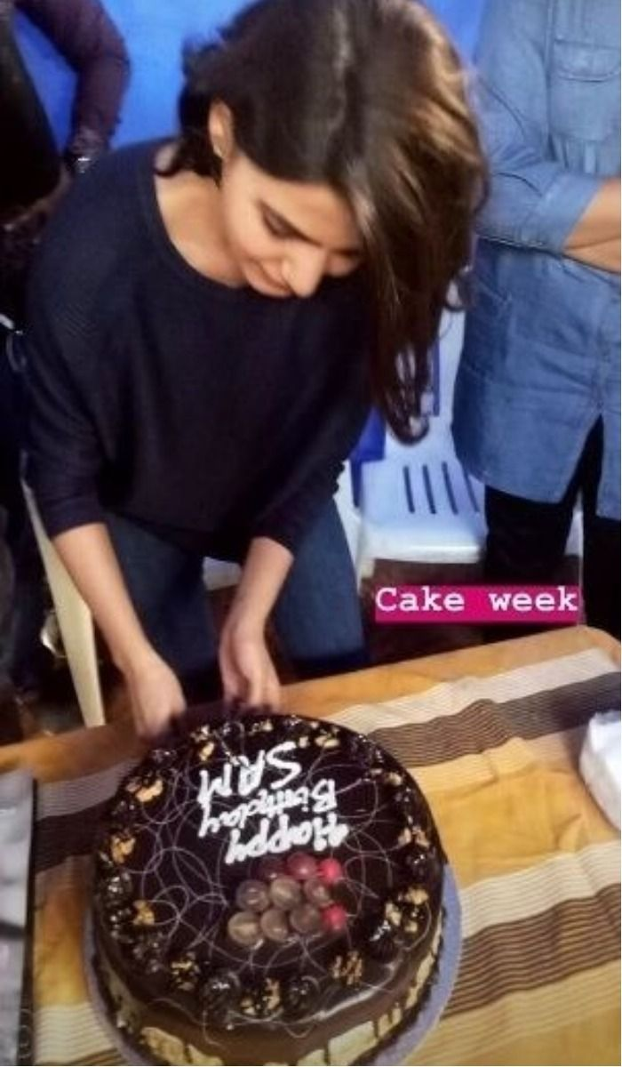 Samantha Ruth Prabhu birthday Cake 3