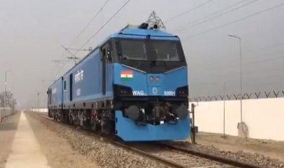 डेडिकेटेड फ्रेट कॉरीडोर पर माल ढुलाई के लिए रेलवे इन इंजनों का करेगी इस्तेमाल.