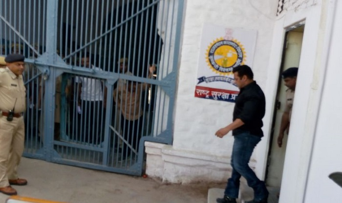 Salman Khan in Jodhpur Central Jail