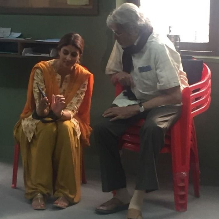Amitabh Bachchan Shweta Bachchan Nanda (2)