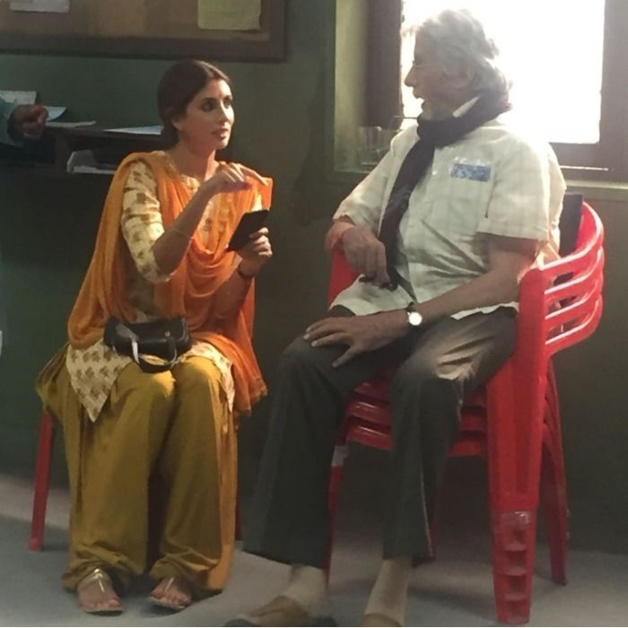 Amitabh Bachchan Shweta Bachchan Nanda (3)