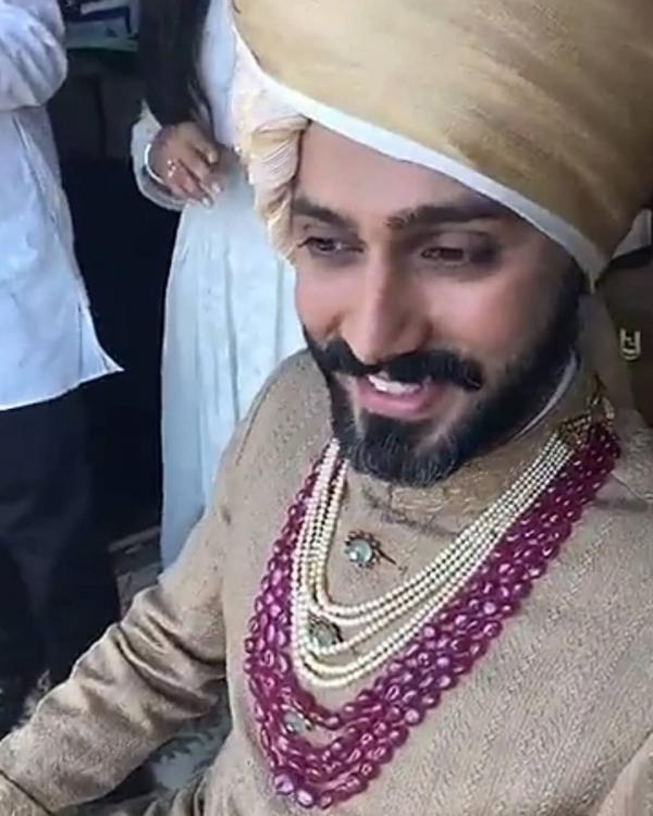 Anand Ahuja Wedding Look