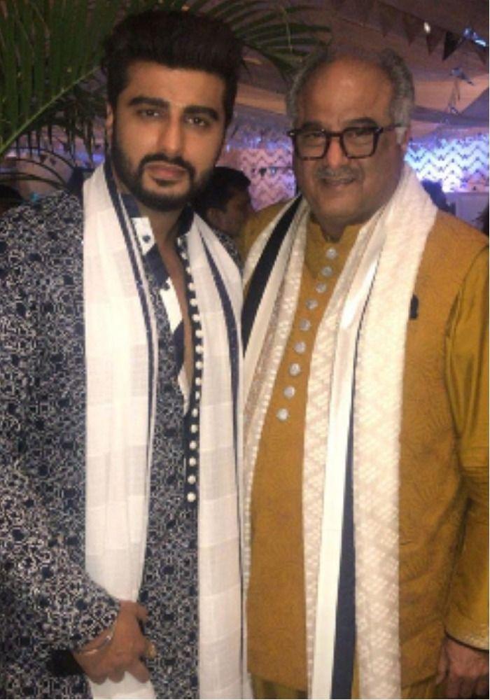 Arjun Kapoor Boney Kapoor