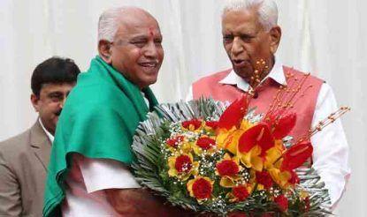 कर्नाटक के राज्यपाल वजूभाई वाला ने कुछ दिन पहले ही भाजपा नेता बी.एस. येदियुरप्पा को सीएम पद की शपथ दिलाई थी. येदियुरप्पा 55 घंटे तक ही सीएम के पद पर रह पाए थे.