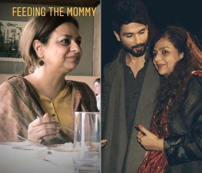 Shahid Kapoor Neelima Azeem