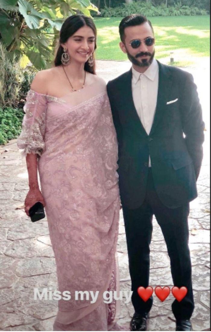 Sonam Kapoor Anand Ahuja Cannes