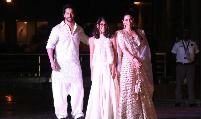 Varun Dhawan Samaira Karisma Kapoor