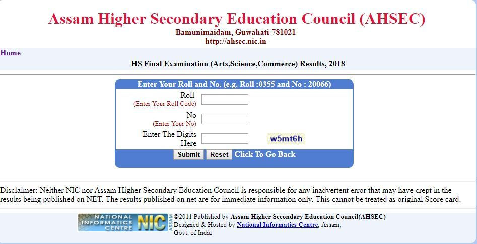 assam result
