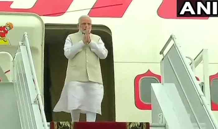 Narendra Modi reaches Russia's Sochi for an summit with President Vladimir Putin