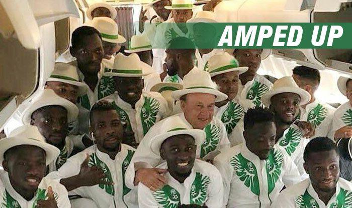 3b5a97a6e70 FIFA World Cup 2018  John Obi-Led Nigeria Football Team Ups The ...