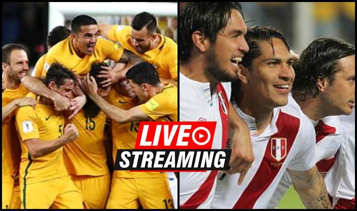 696541d27 Australia vs Peru FIFA World Cup 2018 Match 37 Live Streaming  When And  Where To Watch on TV (IST)