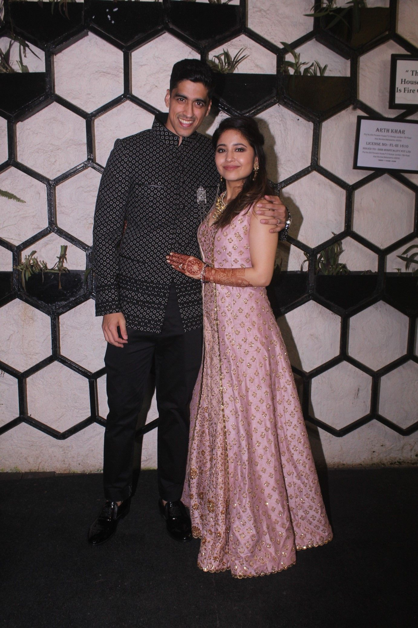 Chaitanya Sharma and Shweta Tripathi 1