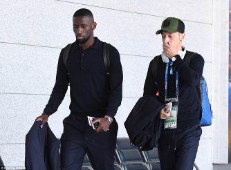 German PL players arrives..