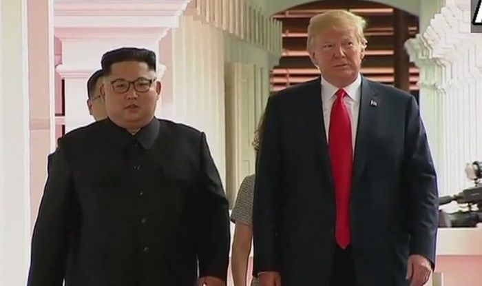 Kim Jong-un and Donald Trump