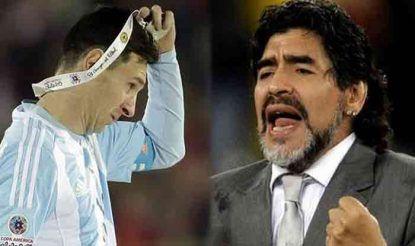 Messi-Maradona