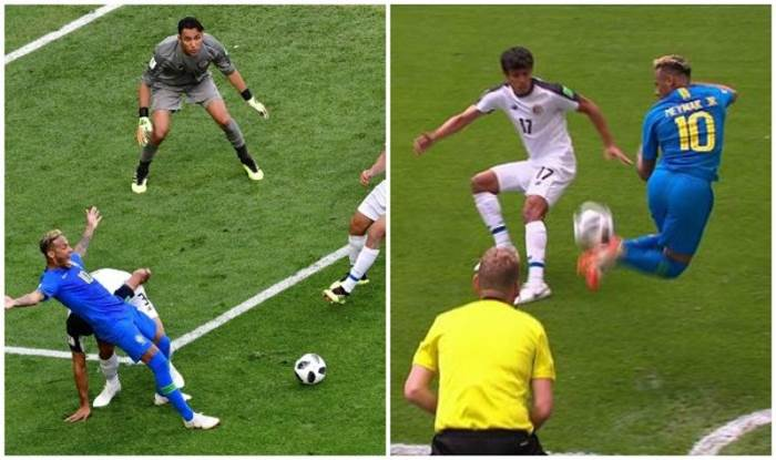 Fifa World Cup 2018 Neymar S Sensational Rainbow Flick Skill And Dive In Match Against Costa Rica Watch India Com