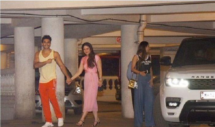 Ranveer escorts Kareena