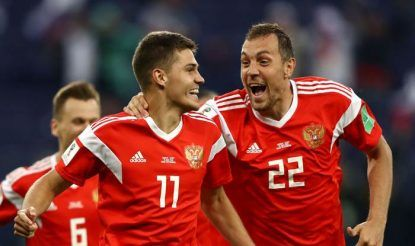 Russia Qualified for the next round