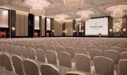 सिंगापुर का होटल शांगरी-ला, जहां ट्रंप और किम जोंग की बैठक होनी है.