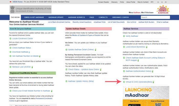 Aadhaar Virtual ID: 3 Steps to Generate Temporary Number at