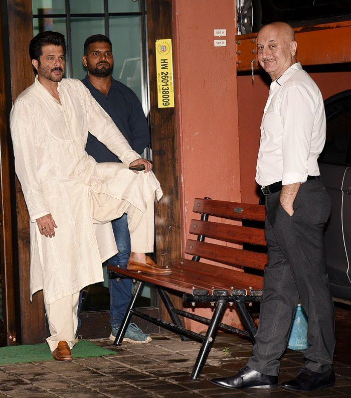 Anil Kapoor and Anupam Kher