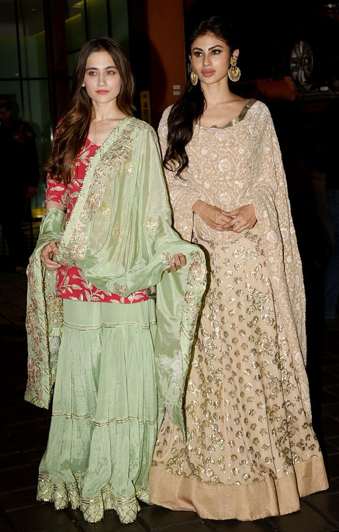 Sanjeeda Sheikh and Mouni Roy