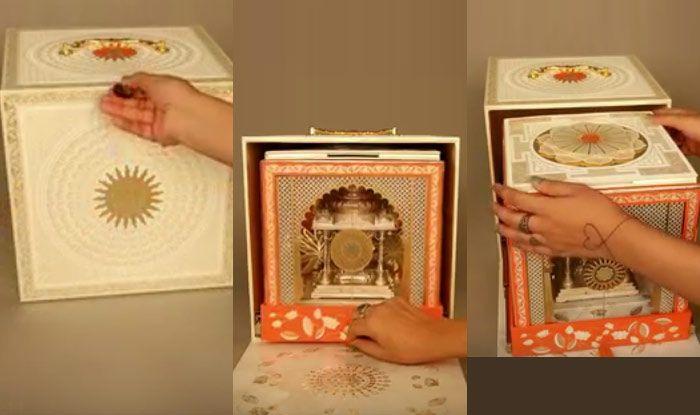 Akash Ambani And Shloka Mehta Wedding Invitation Card Looks Mesmerising;  Check Out | India.com