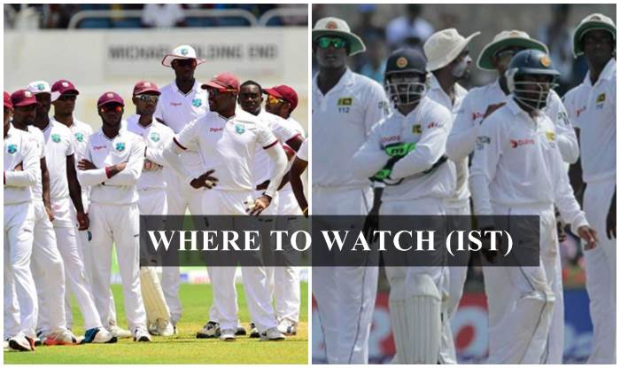 West Indies vs Sri Lanka 1st Test Live Streaming: Where and When To