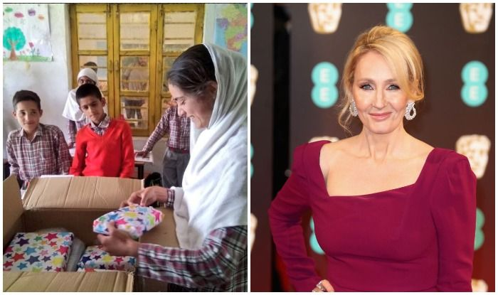 JK Rowling Gifts Kashmiri Student With Harry Potter Books and a Personal Note After Reading Touching Essay