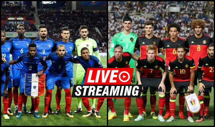8ef3bb11e9c France vs Belgium FIFA World Cup 2018 Match 61 Live Streaming  When ...