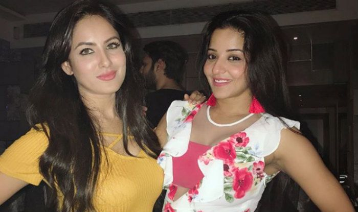 Monalisa and Puja Banerjee Pose Together