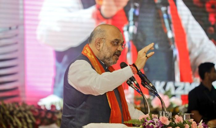 Congress Busy in Minority Appeasement, Promised 'Free Electricity' to Mosques, Churches But Not to Temples: Amit Shah in Telangana