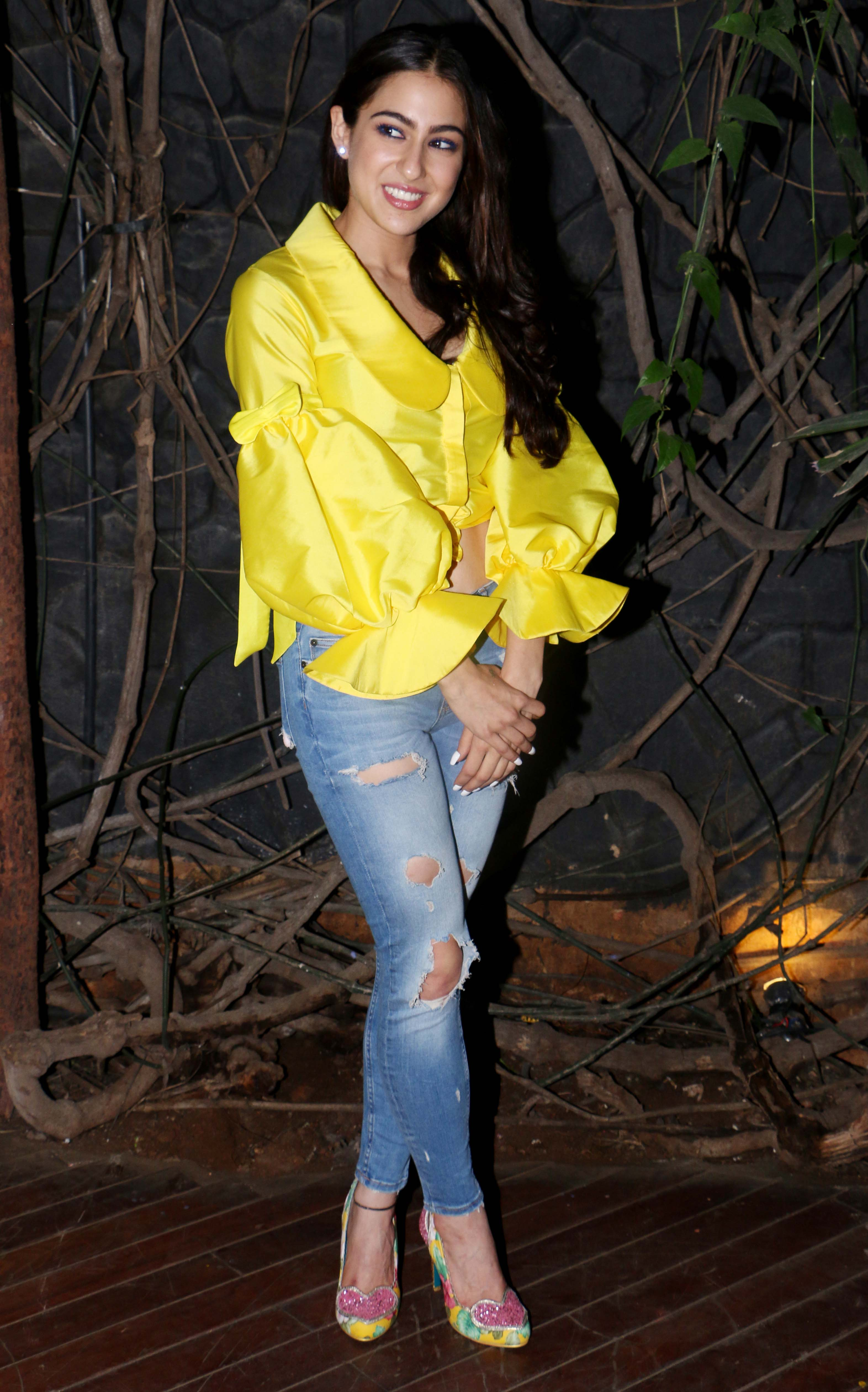 Sara Ali Khan and Sushant Singh Rajput are all smiles as ...