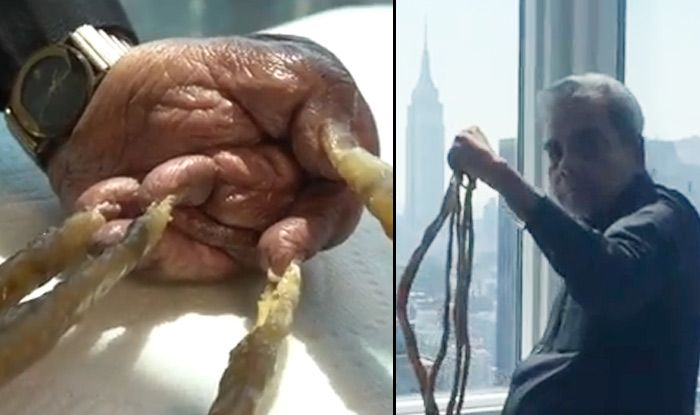 world's longest nail