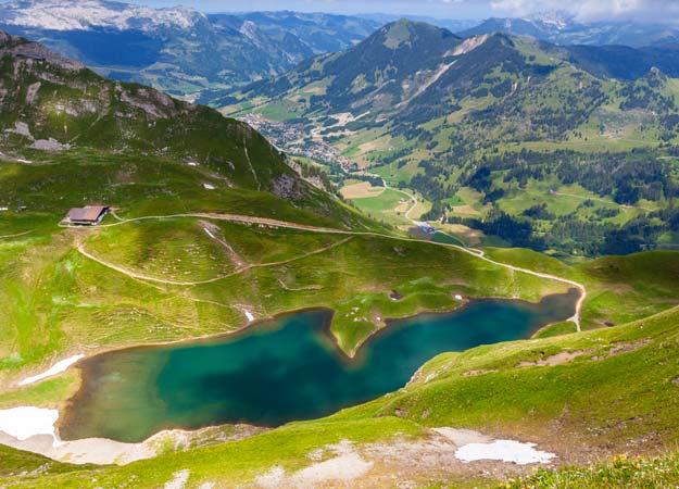 Switzerland Eisee Lake Jungfrau