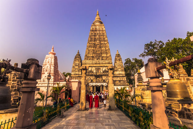 Image result for bodh gaya buddha temple