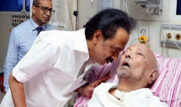 Karunanidhi Health Update: DMK Chief Extremely Critical, Stalin Meets CM E Palanisami