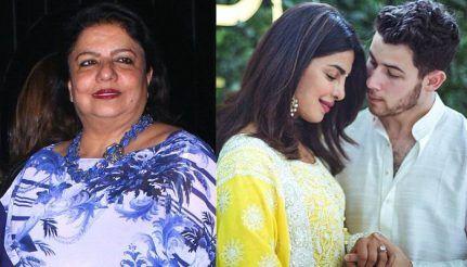 Priyanka Chopra Nick Jonas Madhu Chopra