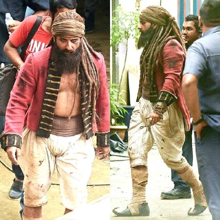 Saif Ali Khan hunter Naga Sadhu look