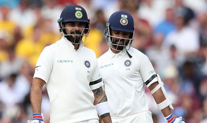 India vs England 3rd Test: Fifties From Virat Kohli And Ajinkya ...