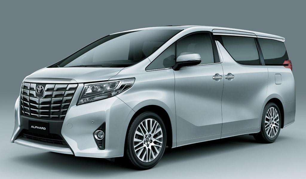 Toyota Alphard Premium Mpv In Consideration For India News Cars