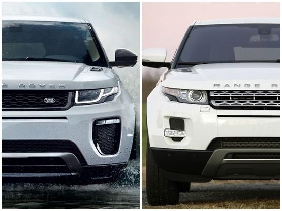 2016 Range Rover Evoque Vs Old Comparison Report