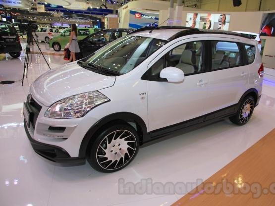 Maruti Suzuki Unveils Ertiga Based Crossover Concept At Indonesia