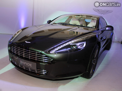Aston Martin One 77 And Rapide Unveiling Videos
