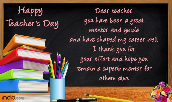 Quotes About Leaving High School Happy Teachers' Day 20...