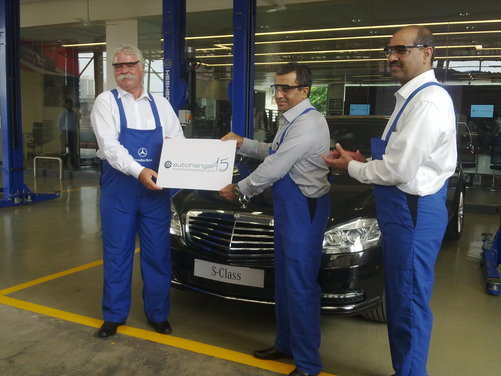 Mercedes Benz Inaugurates India S Biggest Luxury Car Workshop Ever