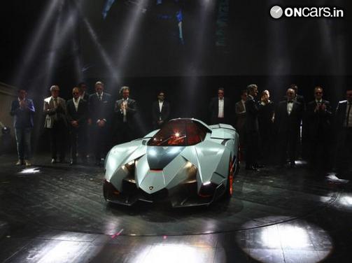 Lamborghini S Selfish Supercar Concept Unveiled In Italy News